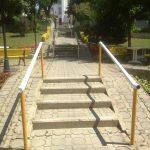Merdiven Çam Küpeşte Yapılacak Korkuluk