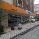 Vakıfbank Sefaköy Merkez Şubesi Önüne Kilitli Otopark Bariyer