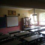 Sabri Taşkın İlkokulu Sınıfların Boya Uygulaması