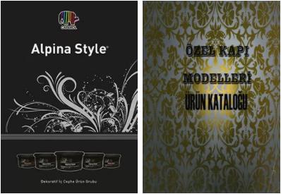 Alpina Katalog, Özel Kapı Modelleri Kataloğu
