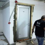 Alüminyum kapı montajı