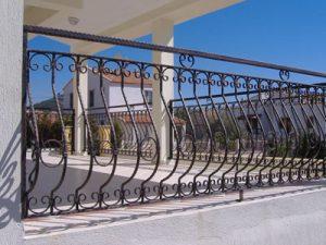 Demir Balkon Parmaklık Ferforje