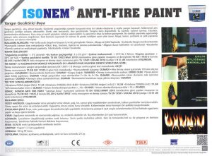 ISONEM® ANTI-FIRE PAINT