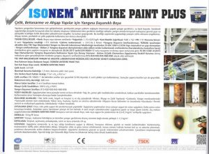 ISONEM® ANTIFIRE PAINT PLUS