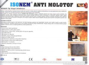 ISONEM® ANTI MOLOTOF