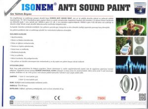 ISONEM® ANTI SOUND PAINT