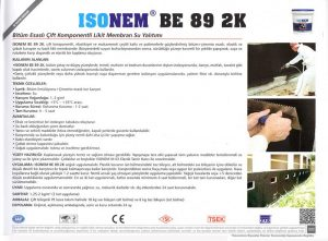 ISONEM® BE 89 2K