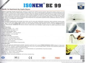ISONEM® BE 99
