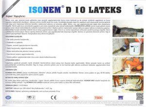 ISONEM® D 10 LATEKS