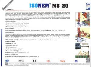ISONEM® MS 20