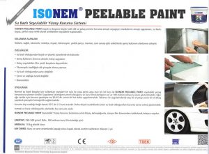 ISONEM® PEELABLE PAINT