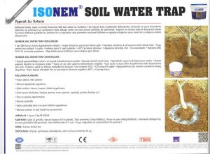ISONEM® SOIL WATER TRAP