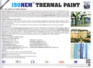ISONEM® THERMAL PAINT