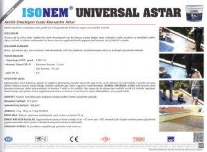 ISONEM® UNIVERSAL ASTAR