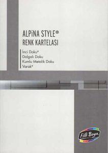 alpina style renk kartelası