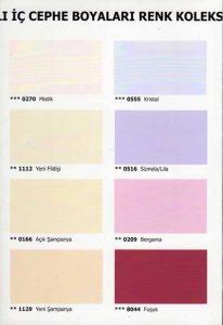 ÇBS Renk Kolleksiyonu