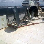 Uydu Anten Çevresine Demir Kafes Yapılması